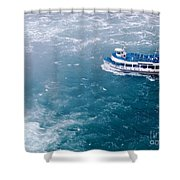 Maid Of The Mist American Side  Shower Curtain