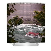 Maid Of The Mist Canadian Boat Shower Curtain