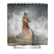 Maid Of The Mists Shower Curtain
