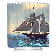 Maiden Voyage Shower Curtain