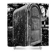 Mail Box Shower Curtain by David Lee Thompson