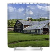 Mail Pouch Barn Shower Curtain