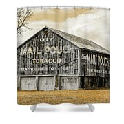 Mail Pouch Barn - Us 30 #3 Shower Curtain