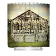 Mail Pouch Barn - Us 30 #7 Shower Curtain