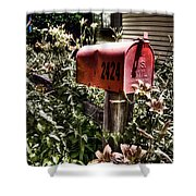 Mailbox Deux Shower Curtain