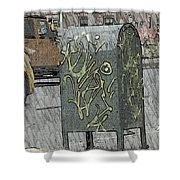 Mailbox Harlem Shower Curtain