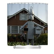 Mailbox King Shower Curtain