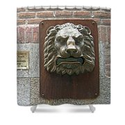 Mailboxes In Toledo Spain Shower Curtain