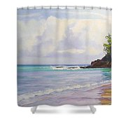 Main Beach Noosa Heads Queensland Australia Shower Curtain