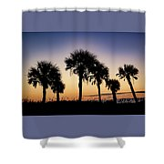 Main Beach Sunrise  Shower Curtain