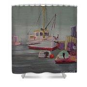 Main Boat 1 Shower Curtain