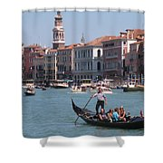 Main Canal Venice Italy Shower Curtain