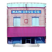 Main Drug Company Shower Curtain