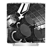Main Engines Shower Curtain