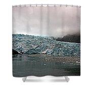 Main Glacier Shower Curtain