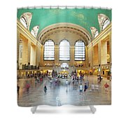 Main Hall Grand Central Terminal, New York Shower Curtain