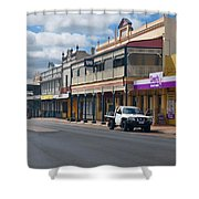 Collie Tidt Town  Shower Curtain