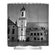 Main Square Shower Curtain