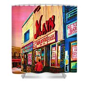 Main Steakhouse Blvd.st.laurent Shower Curtain