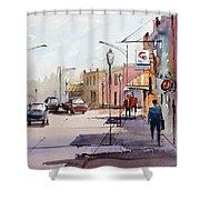 Main Street - Wautoma Shower Curtain
