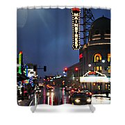 Main Street Kansas City Shower Curtain