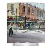 Main Street Marketplace - Waupaca Shower Curtain