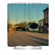Main Street - Old Forge New York Shower Curtain