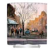 Main Street - Steven's Point Shower Curtain