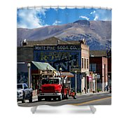 Main Town Street Shower Curtain