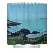 Maine Coast 1 Shower Curtain