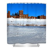 Maine Criminal Justice Academy In Winter Shower Curtain
