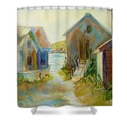Maine Island Shower Curtain