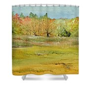 Maine Marsh Shower Curtain