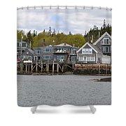 Maine Village Shower Curtain