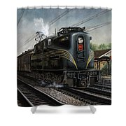 Mainline Memories Shower Curtain