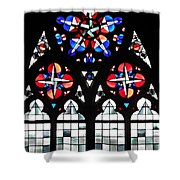 Mainz Cathedral Window Shower Curtain