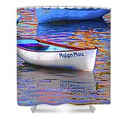 Maipn Mou Shower Curtain