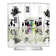Maison De La Tarte Shower Curtain