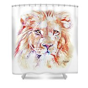 Majestic African Lion Shower Curtain