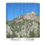 Majestic Eldorado Mountain Shower Curtain