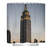 Majestic Empire State Bldg  N Y C Shower Curtain