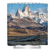 Majestic Fitz Roy Shower Curtain