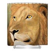 Majestic Lion Shower Curtain