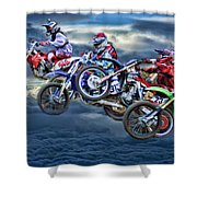 Majestic Motors Shower Curtain