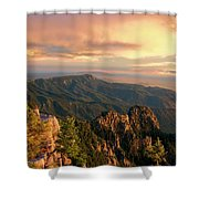 Majestic Mountain View Shower Curtain