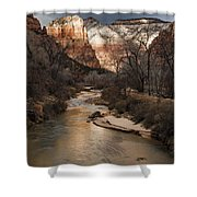 Majestic Mountains-zion Shower Curtain