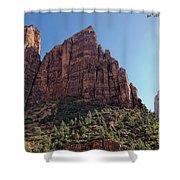 Majestic Peaks Shower Curtain