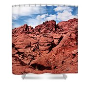Majestic Red Rocks Shower Curtain