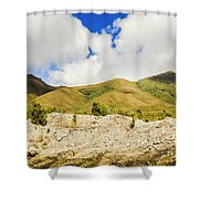 Majestic Rugged Australia Landscape  Shower Curtain