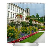 Majestic Salzburg Garden Shower Curtain